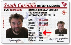 Business License The Of Driver's Losing « Weight