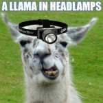 llama-headlamp