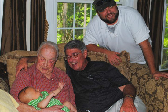 Four generations - Circa April 2010