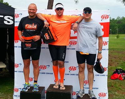 clemson-triathlon-clyde-podium